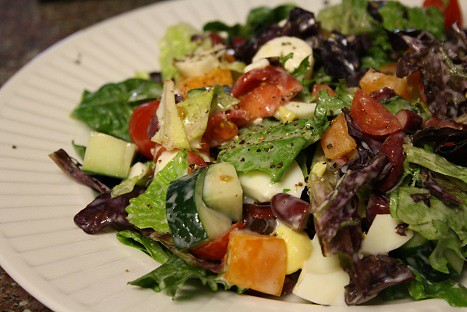 New York Style Chopped Salad - Can Cook, Will Travel