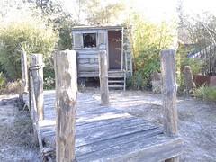 TV Garden - Kings Heath Park - decking and beach hut