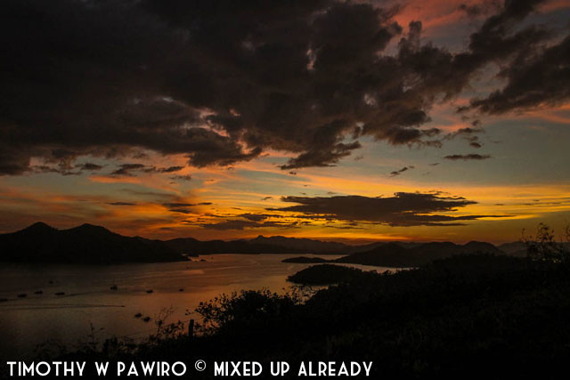 Asia - Philippines - Coron - Mount Tapyas - Sunset