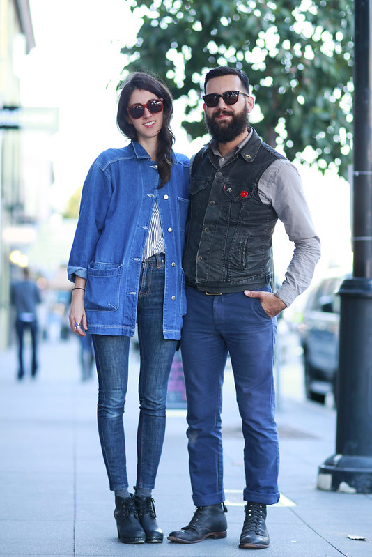 nikki_matt_val men, Quick Shots, San Francisco, street fashion, Valencia Street, women