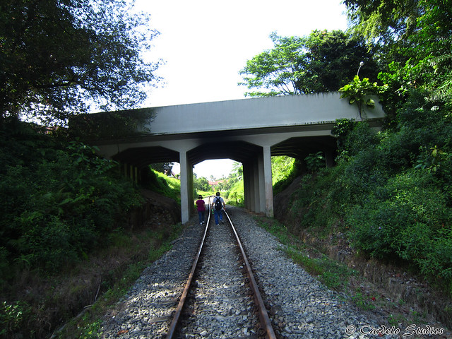 KTM Railway Track - Holland Road 1st Bridge 01