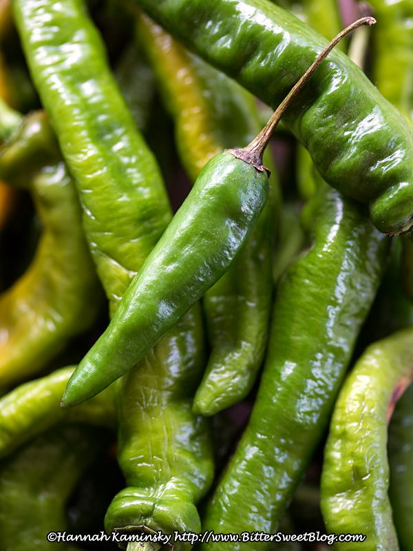 how to cook long hot green peppers