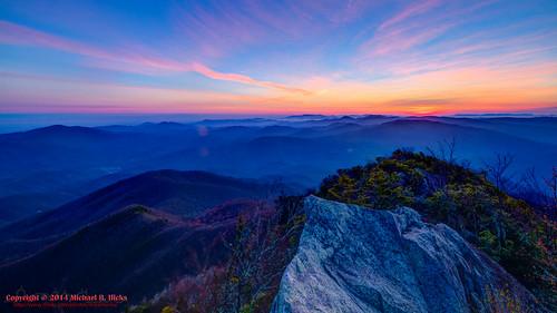 usa sunrise landscape geotagged spring unitedstates hiking tennessee hdr cosby greatsmokymountainsnationalpark gsmnp photomatix crestmont sigma1020mmf456exdc mountcammerer canon7d nashvillehikingmeetup catonsgrove geo:lat=3576357871 geo:lon=8316127360