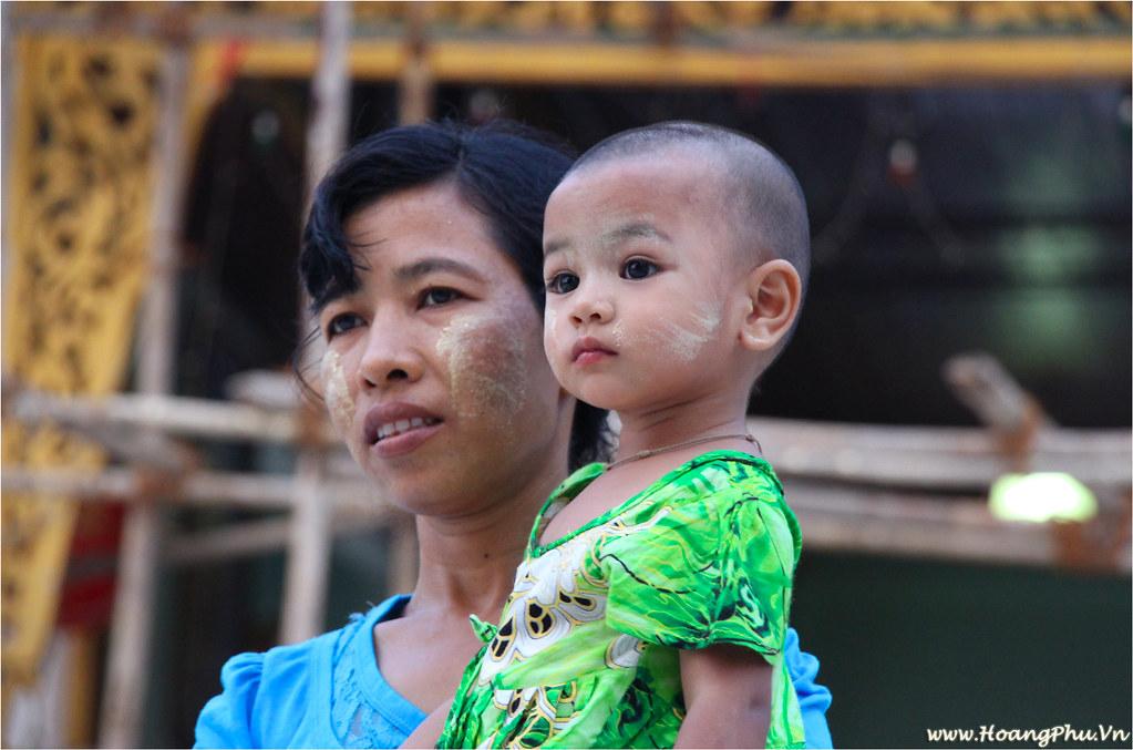 Citizen of Myanmar in Yangon