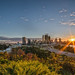 Perth Skyline Sunrise