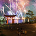 Epcot Fireworks panoramic