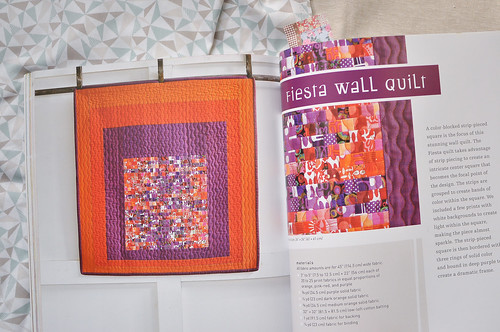 Fiesta Wall Quilt from Quilting Modern