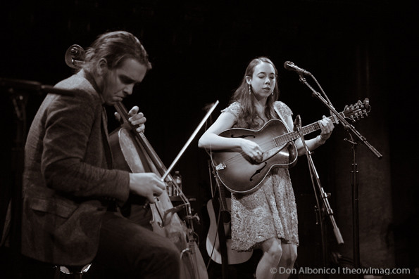 Sarah Jarosz @ Great American Music Hall, SF 4/29/2014