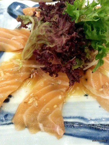 Salmon Carpacio