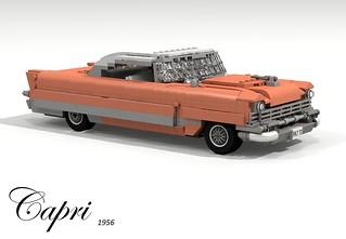 Lincoln 1956 Capri Hardtop