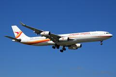 Surinam Airways  Airbus A340-313 PZ-TCR