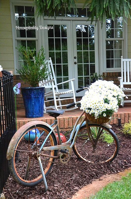Daisies/Vintage Bicycle - Housepitality Designs