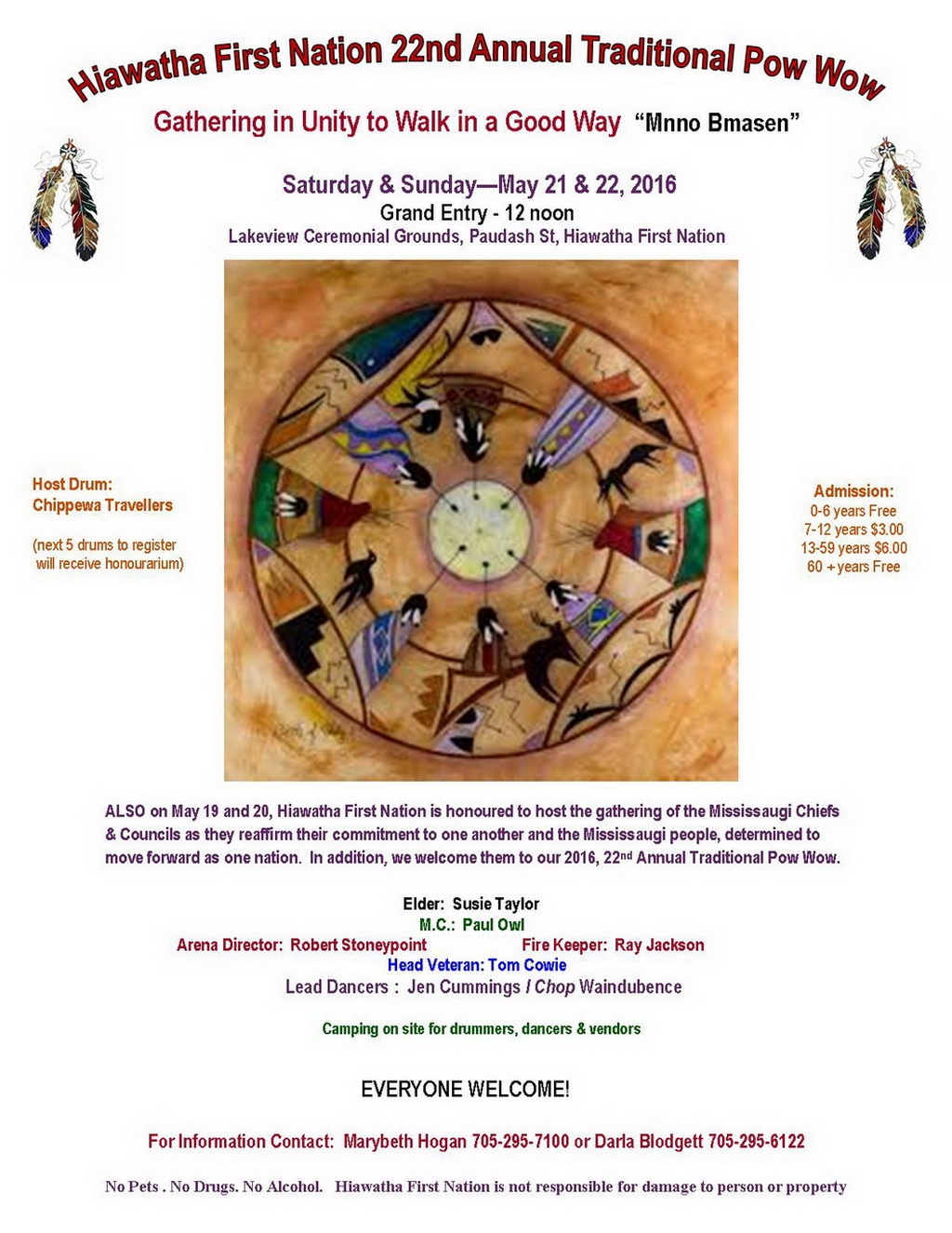 2016-Hiawatha-First-Nation-Pow-Wow-Poster