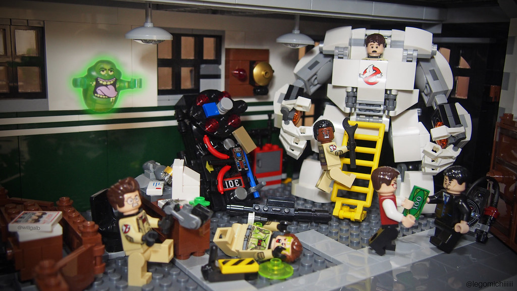 Ghostbusters got their new weapon from Tony Stark.