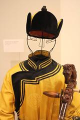 Mongolian performance costume