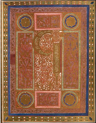 016-Evangelio segun San Lucas-Evangeliar  Codex Aureus - BSB Clm 14000-© Bayerische Staatsbibliothek