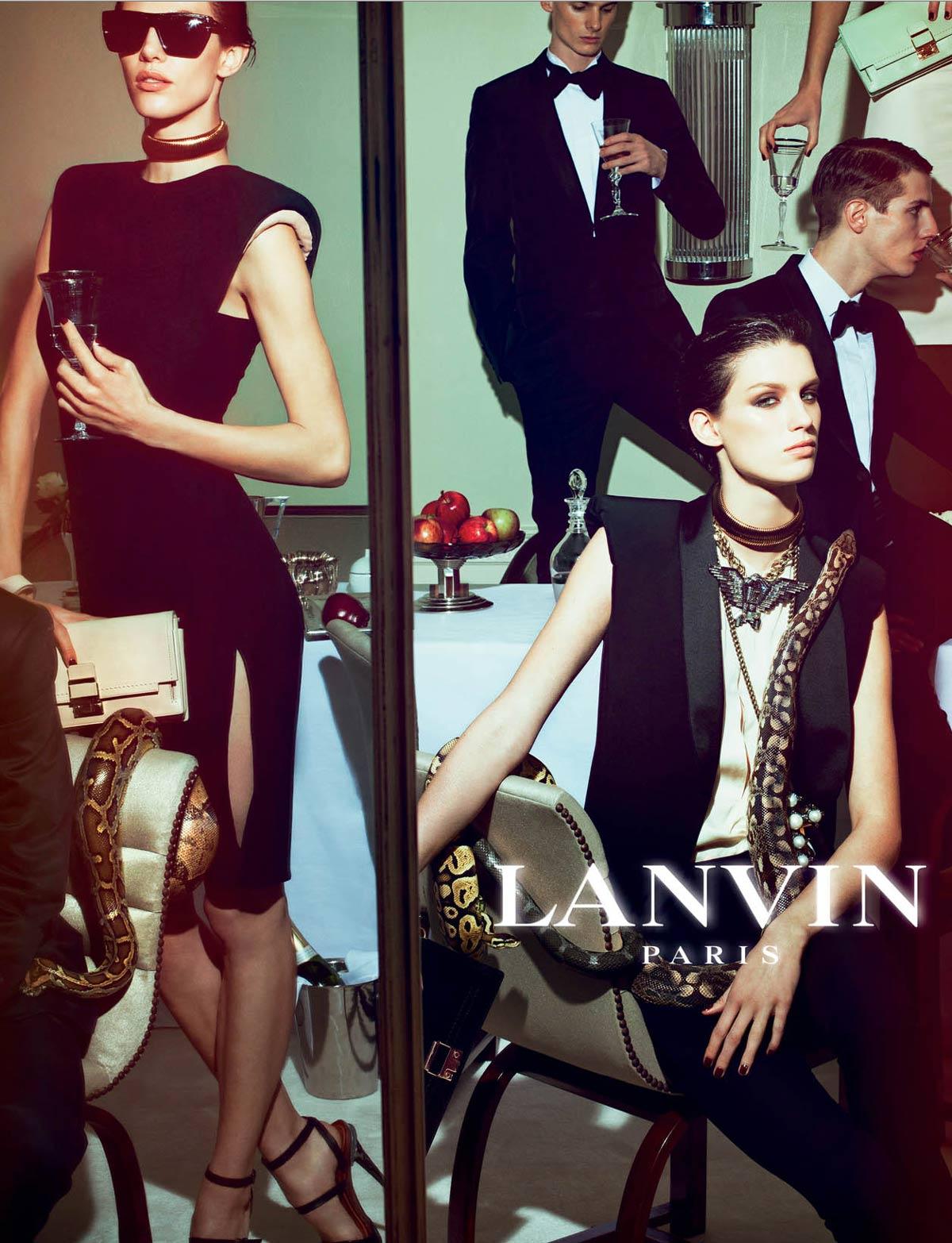 Lanvin S/S 2012 Steven M