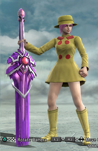 Soul Calibur V Custom Character: Umbrella, by M-han