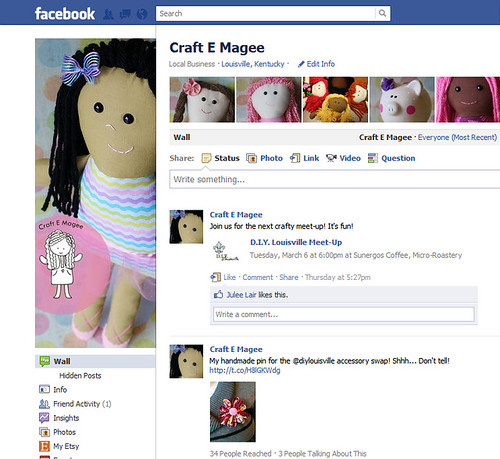 facebook screenshot by E. Magee