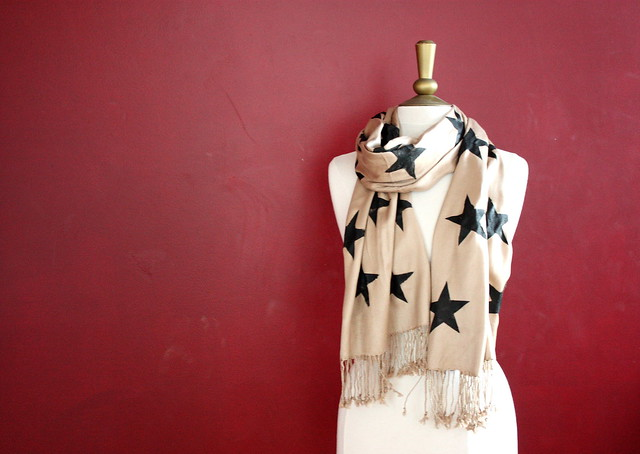Star Scarf DIY