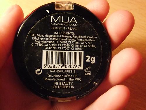Review | MUA Eyeshadow in Shade 11