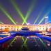 Rays of Light on Lotus Fountain 蓮池光束 by olvwu | 莫方