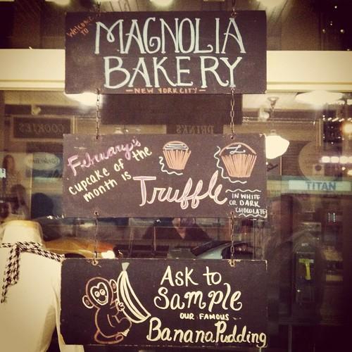 magnolia bakery :)