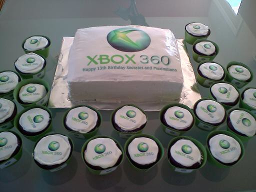 Xbox Cake By Brenda L And Vicki H Flickr Photo Sharing