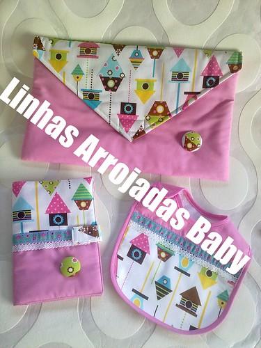 conjunto de menina casa dos passarinhos by ♥Linhas Arrojadas Atelier de costura♥Sonyaxana