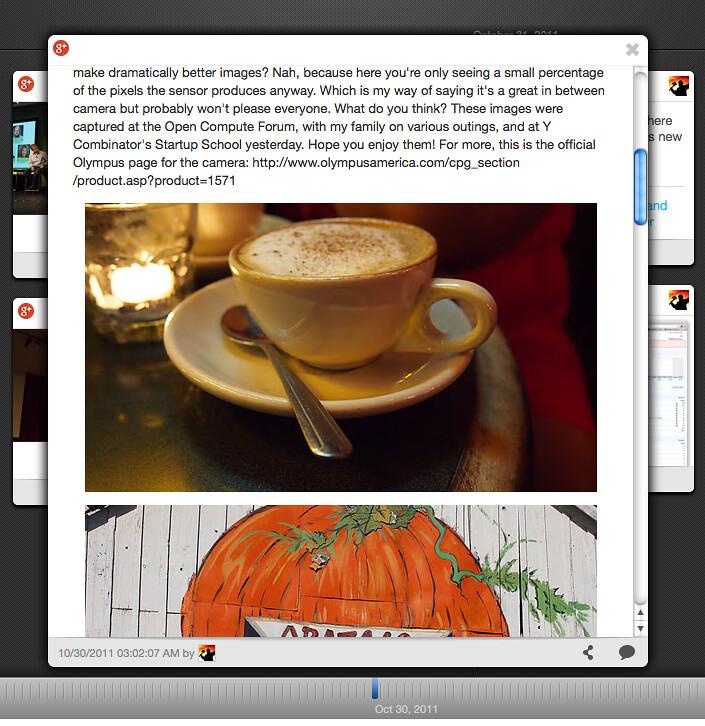 Google plus Timeline | Robert Scoble | Memolane | Oct 30, 2011 - b