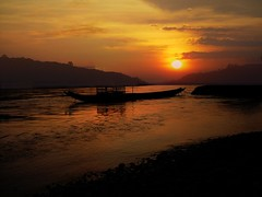 Sunset (Mekong river / Laos)
