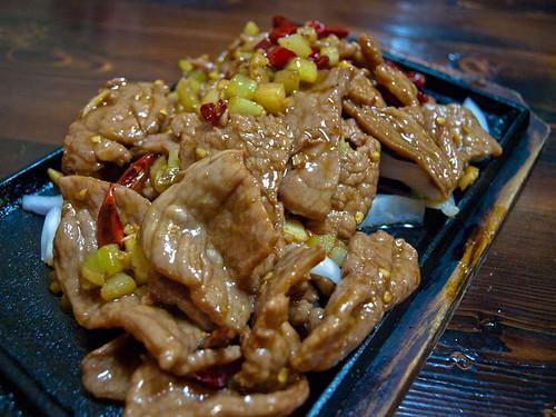Comida china - cerdo
