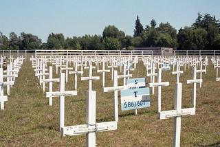 Réplica del Cementerio de Malvinas Argentinas
