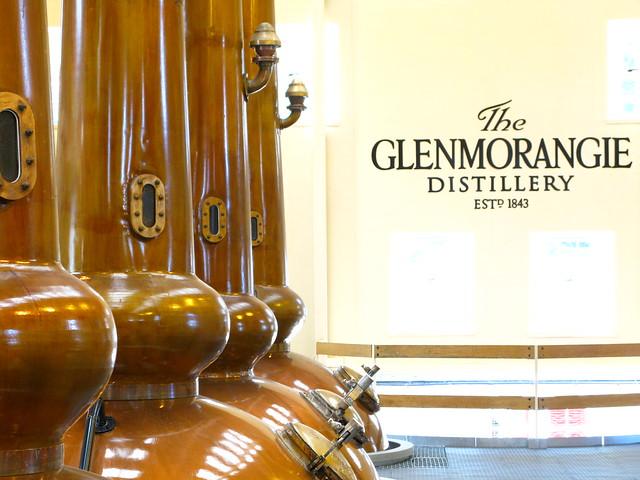 Glenmorangie distillery - still house