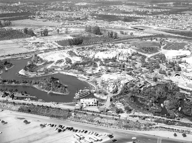 1955 Disneyland North Aerial View Flickr Photo Sharing