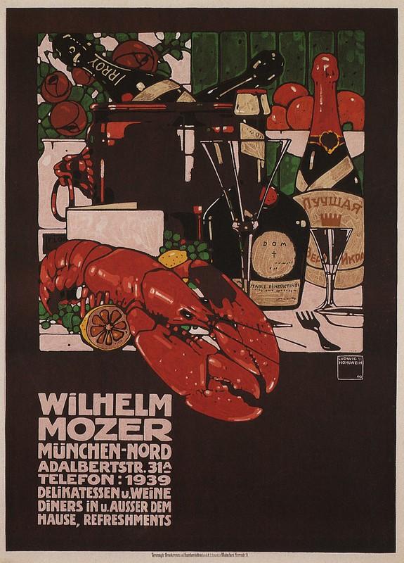 Ludwig Hohlwein. Wilhelm Mozer. 1909