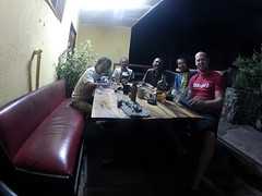 Me and japanese bikers in Livingstone