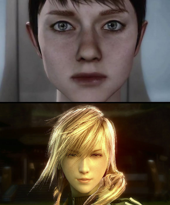 Comparing Kara With Her Female Counterparts