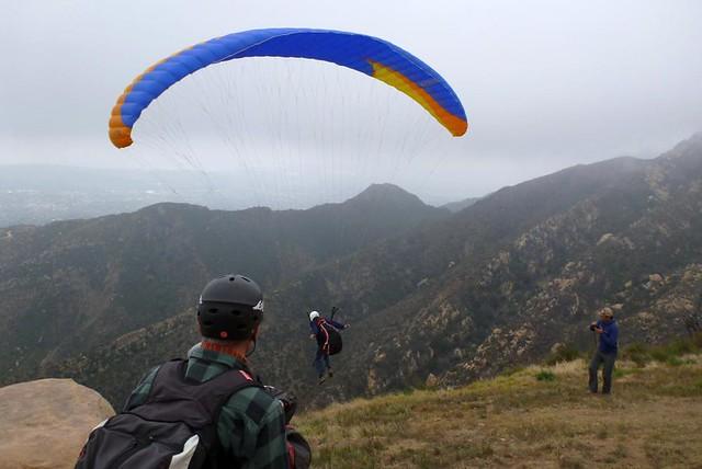 Санта Барбара с птичьего полёта. Первый самостоятельный полёт на параплане - k239