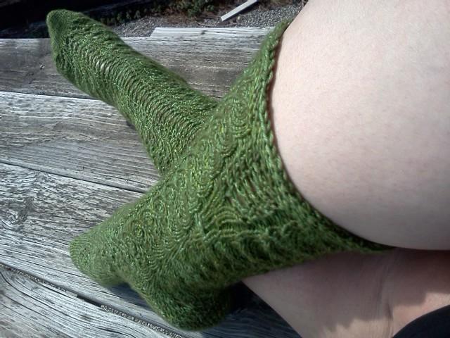 Branching off Socks