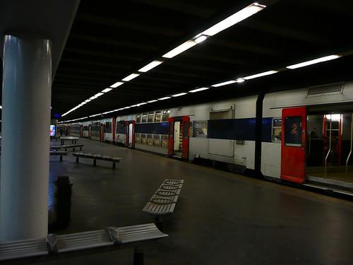 RER Porte Maillot