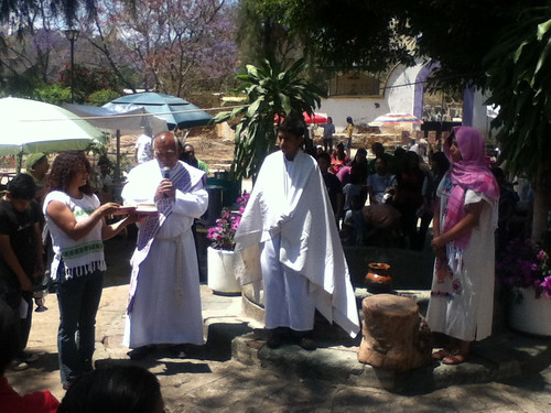 Samaritan Day at the Santo Tomas Xochimilco Church @ Oaxaca 03.2012