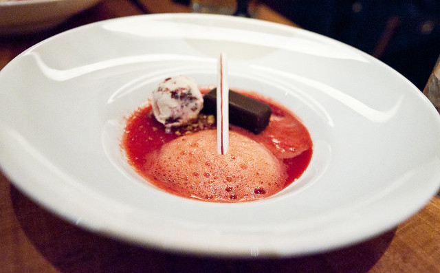 Torrisi - Maraschino Cherry Float