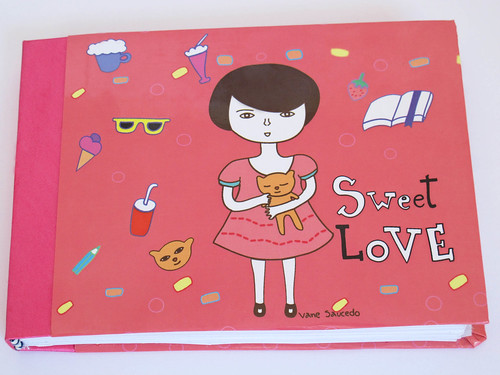 skecht book Sweet love by vane saücedo