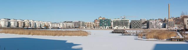 Hammarby sjö, 12 Feb 2012