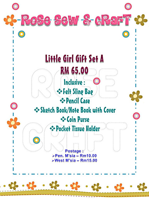 Little Girl Gift Set A