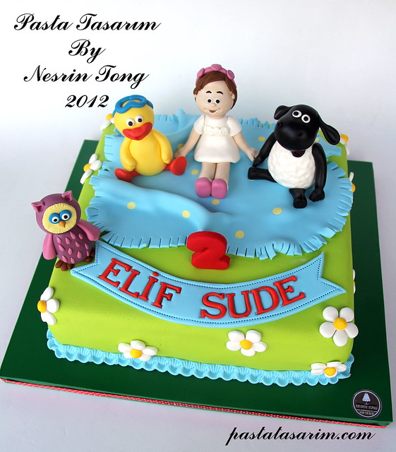 TIMY TIME CAKE - ELIF SUDE BIRTHDAY