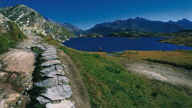 Soumarská stezka Grimselpass – Handegg