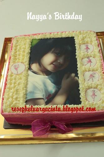 Nayya's birthday  cake