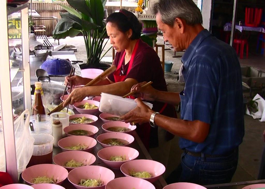 THAILAND , Suppe für alle , 94